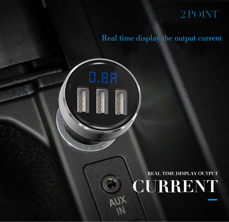 Hot sales AP03 car 12v dc socket car Charger with 3 port usb car charger .png