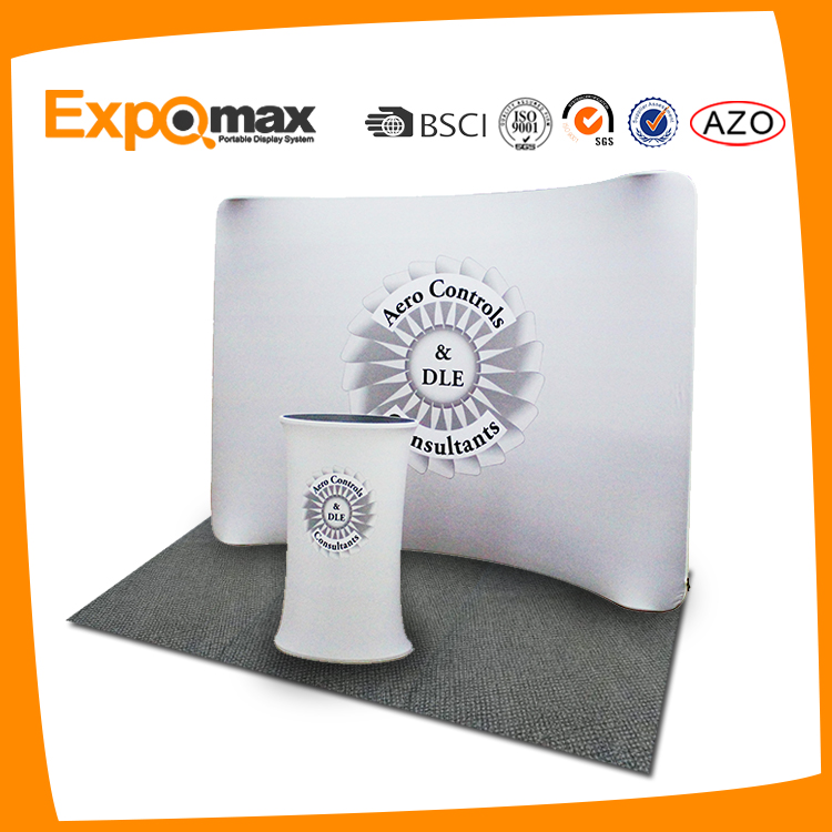 trade show portable photo display exhibition booth stands