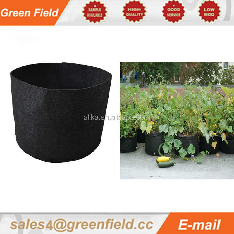 Felt and unique garden pot plastic pots for vertical garden