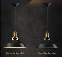 Industrial Vintage Pendant Lights Loft RH Antique Black/White Pendant Lamps for Restaurant/Bar/Coffee Room/Dinning Room Lighting