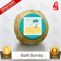 Natural Plants Extract Simply Detox Bath Bomb Relaxing Bubble Bath OEM/ODM Professional Supplier