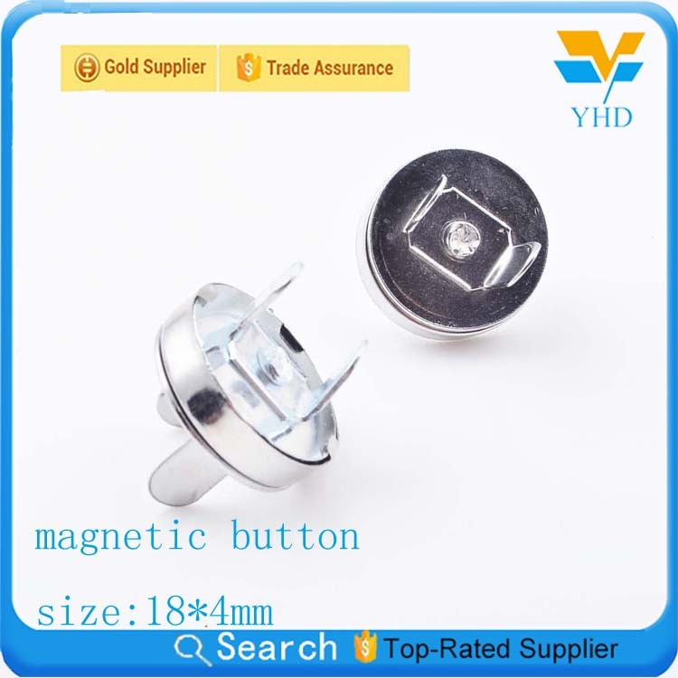 magnet snap button and buckles for leather bags