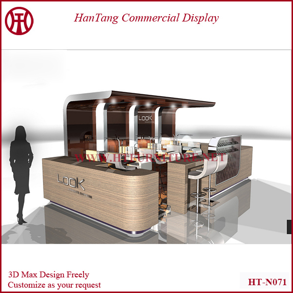 2014 Customize Manicure Table Nail Salon Kiosk Design Nail