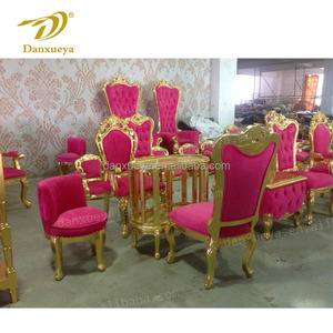 luxury nail salon furniture hot pink velvet pedicure spa chair for beauty salon