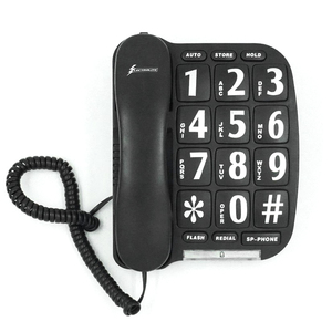 Big button telephone Wall & desk mounted telephone Pop sale model Wholesales home office senior