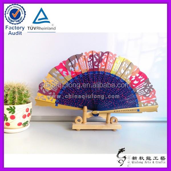 Wholesale Art Minds Wood Crafts Hand Held Fan For Korean Ladies Wooden Hand Fan Buy Paper Fanssouvenir Paper Fansnylon Foldable Hand Fans Product