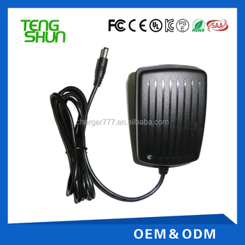 9v 2a 12v 1a adapter charger ul ce fcc