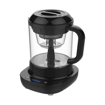 Automatic iced cold brew coffee and tea maker, cold drip coffee maker with filter and ice tube