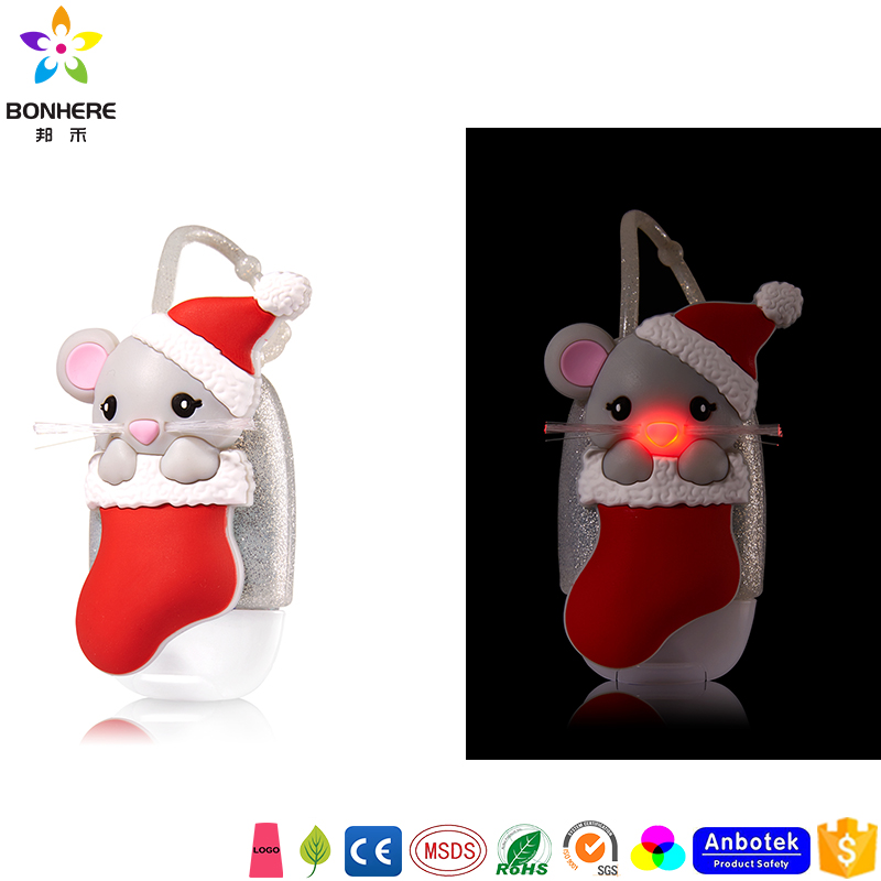 Bath and Body Works Neue Christmas Merrry Mouse Handdesinfektionsmittel PocketBac-Halter