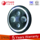 DOT Emark Approval 7 inch motorcycle led round halo headlight