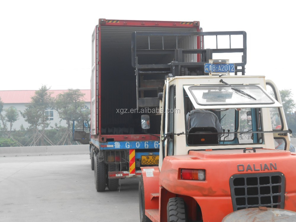 Steel structure building material warehouse door-to-door service