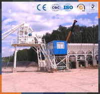 Henan YHZS35 Small Ready Mobile Concrete Mixing Plant Price /Hot sale 35m3/h mobile concrete batching plant price