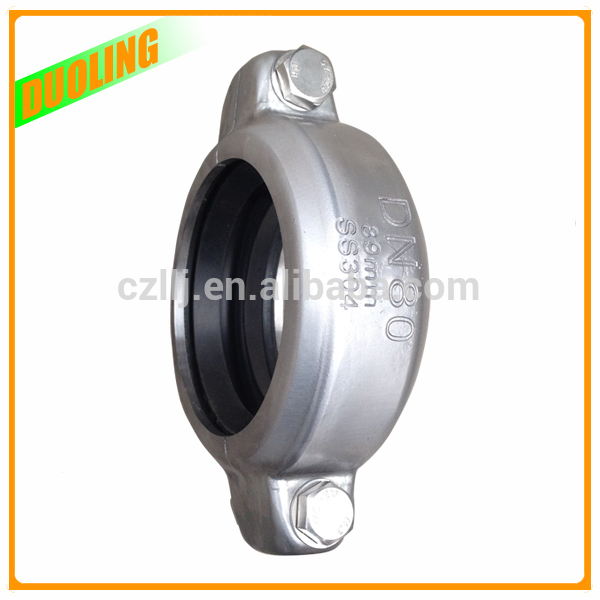 "Duoling 8"" DN200 219mm galvanized pipe joints for Grooved Fittings with highest Standard On Sale"