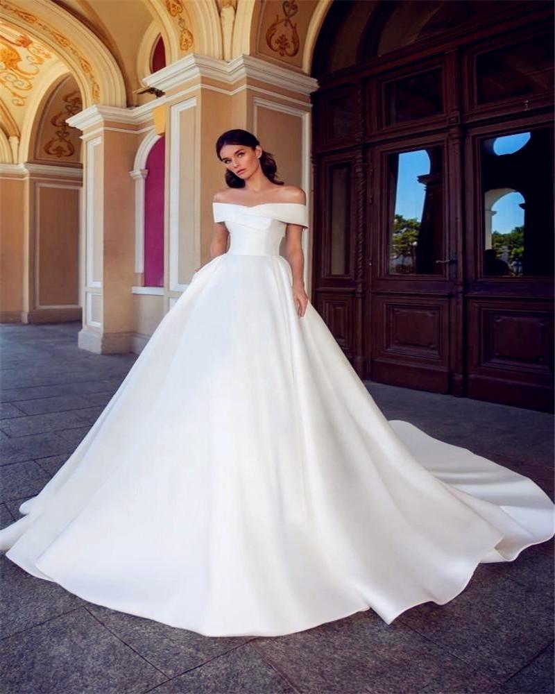 90e6548dcf Venta al por mayor vestidos blancos novia-Compre online los mejores ...