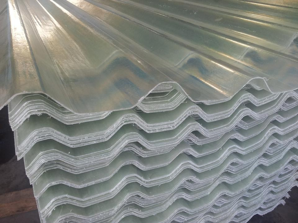 Plastic Transparante Golfplaten Dakplaat Dakpannen Product