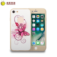 2017 360 degree full body protect case cover for iphone 7 7 plus case luxury hard