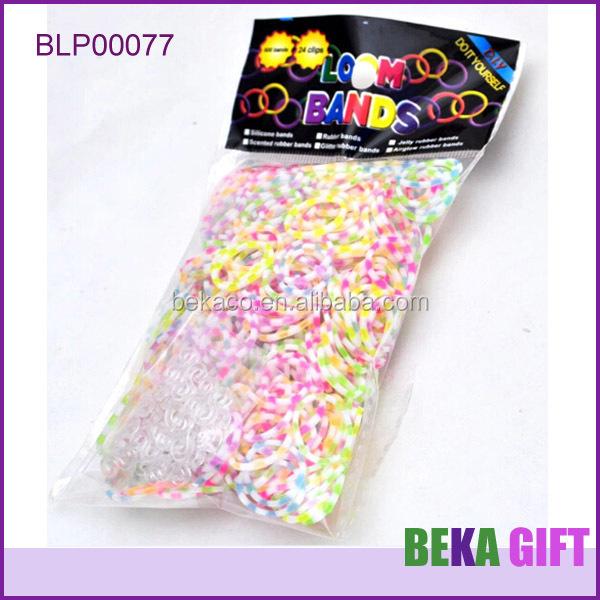 Best Quality Tpu Ice Cream Color Bands Korea Loom Bracelet Diy Rubber