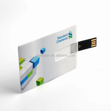 Card Style and Plastic Material Credit Card USB Flash ,usb stick ,otg usb various capacity
