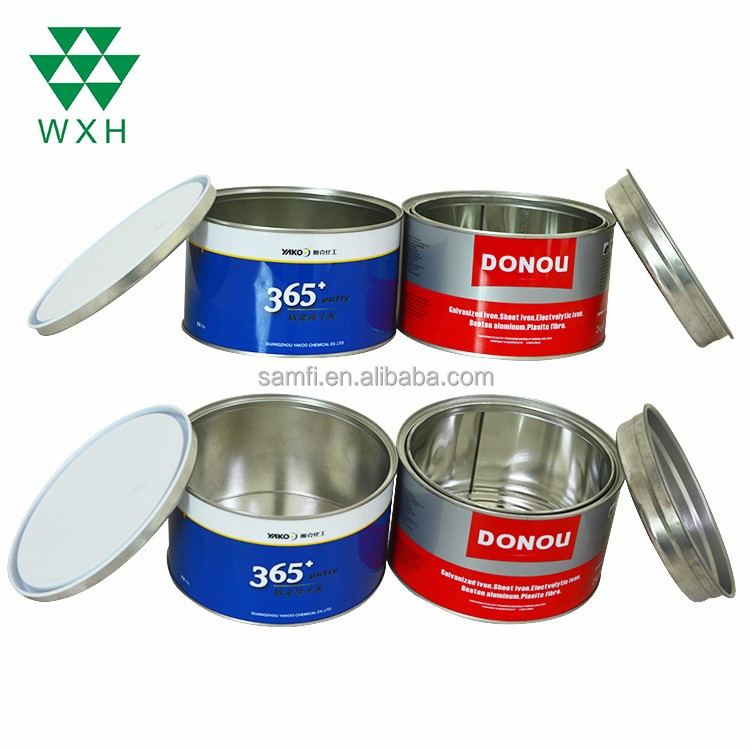 2L Color round cans