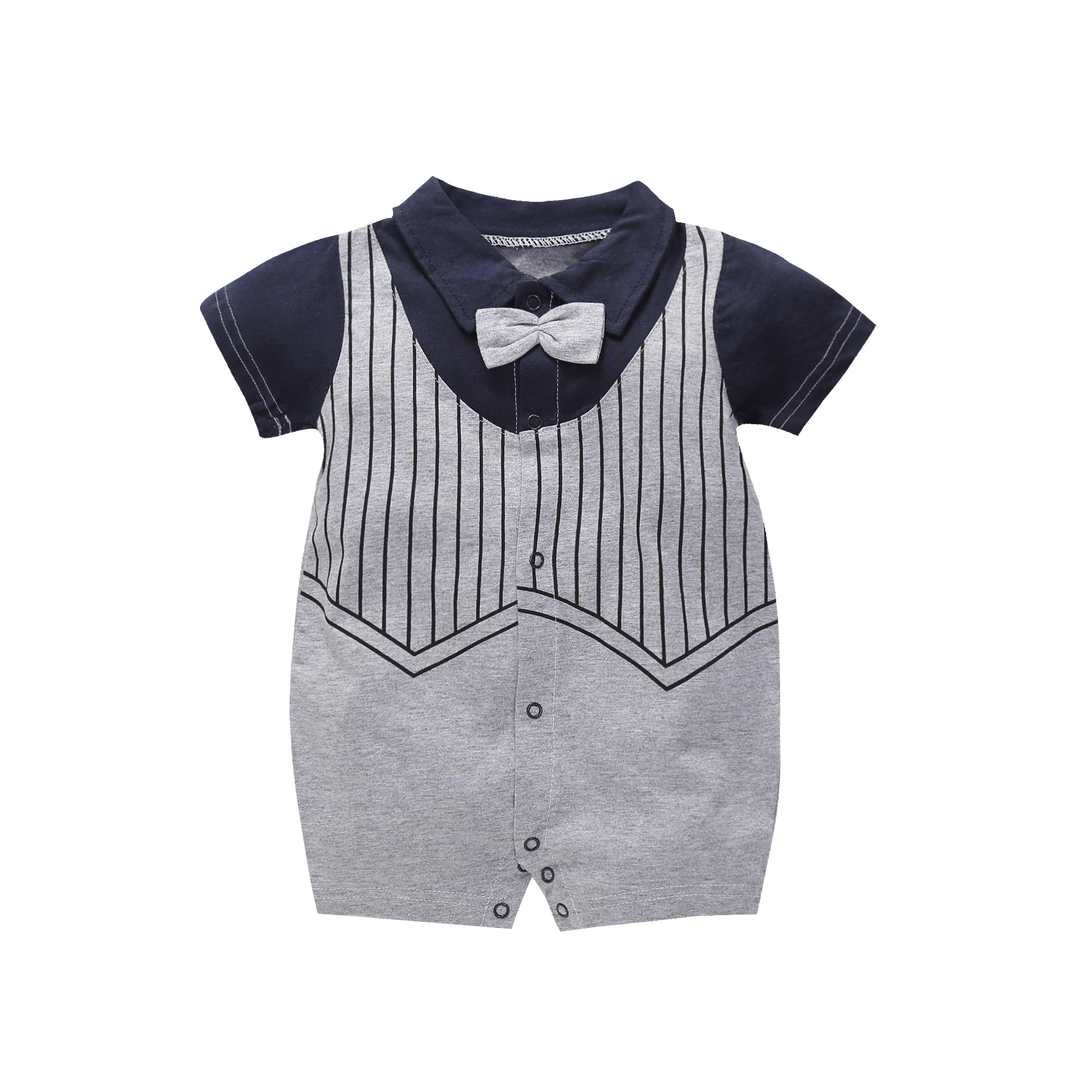 Babygrow With Spots Dots Circles 0-3 Months Commodities Are Available Without Restriction One-pieces Baby & Toddler Clothing