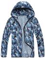 2016 Spring Summer Camo Outdoor Sport Thin Skin Jacket Windbreaker Waterproof Sun Protection Men Coat Camping