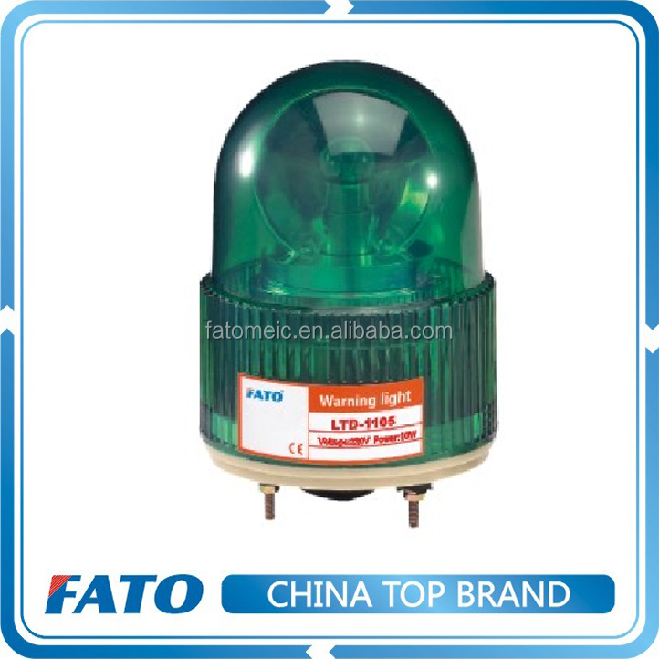 FATO LTE-1105 12V 24V 110V 220V Green Revolving Rotary Warning Light