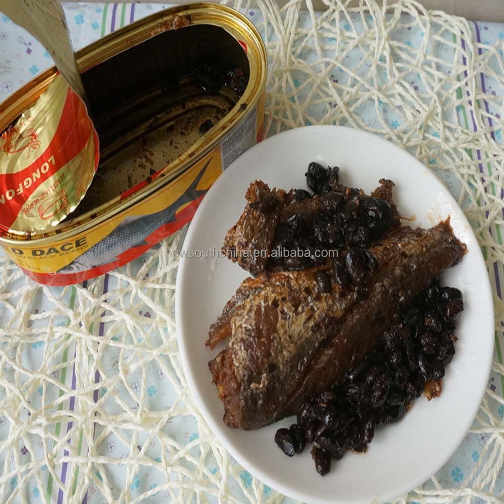 Canned fish fried dace in vegetable oil 184g