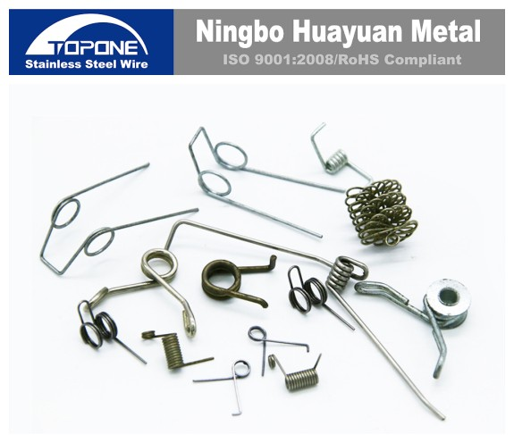 manufacturer high quality stainless steel wire clip customized clip any shape spring clip