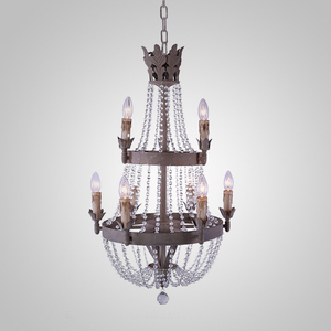 #SuperSeptember Royal Style Two Layer Crystal Chandelier for Home Hotel OEM ODM