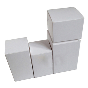 Small white box packaging for gift,accept custom size paper box