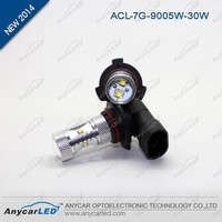 Wholesale high brightness Auto H7 color changing drl 30w led fog light