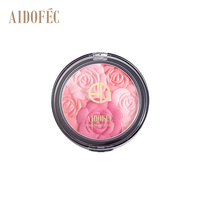 AIDOFEC ADF219 Good Quality Waterproof Single Flower Blusher Makeup