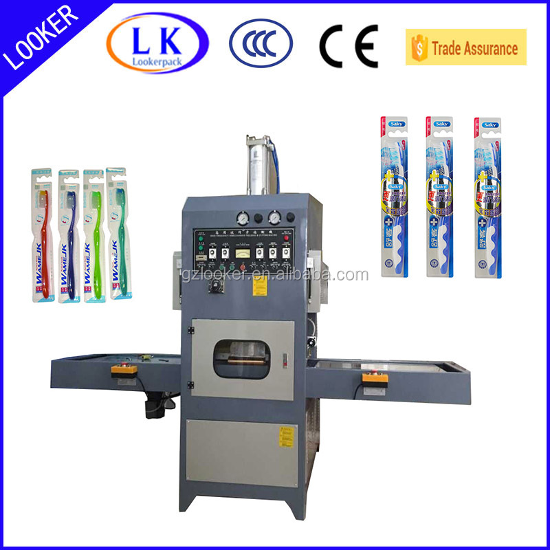 Automatic High Frequency Toothbrush blister packing machine