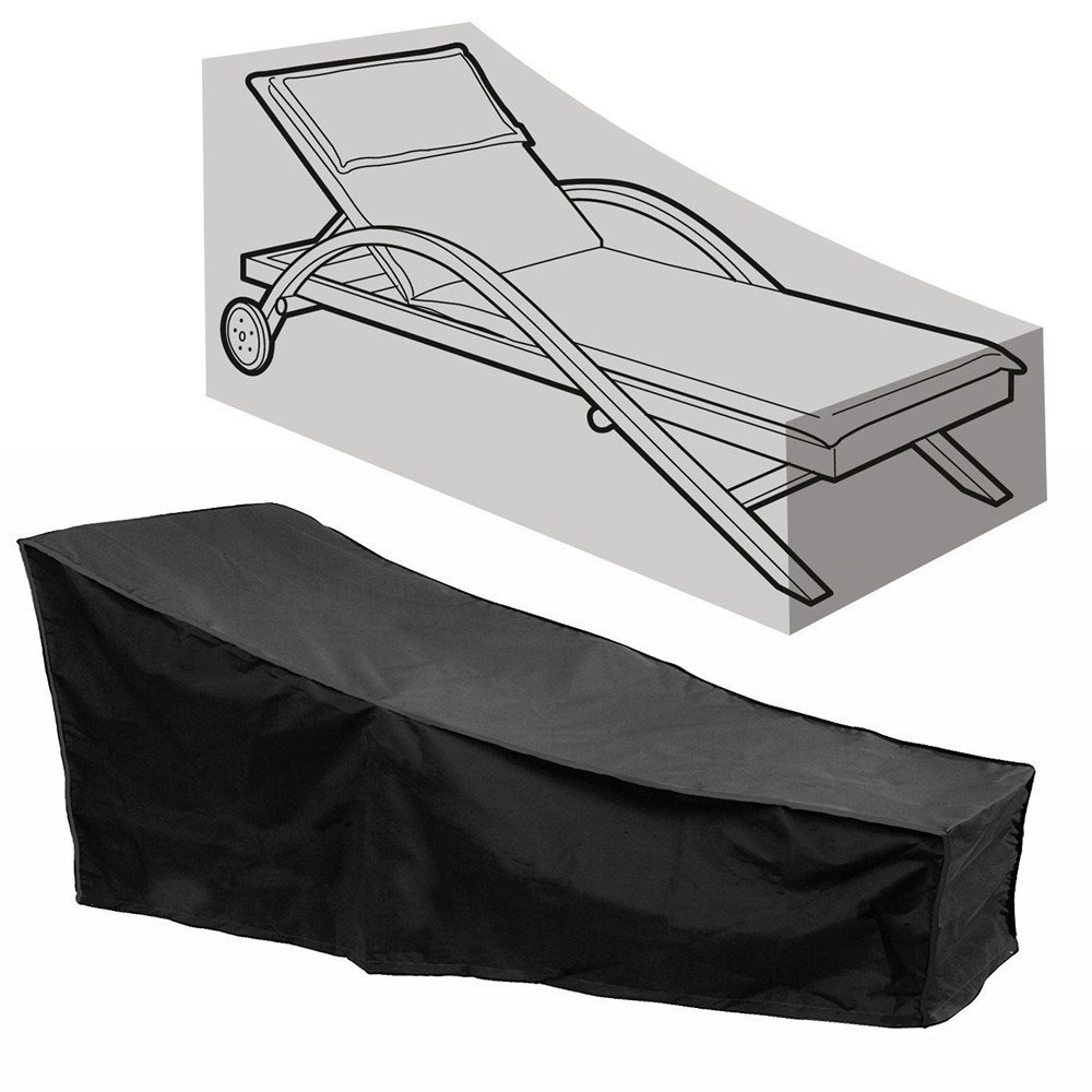 Durable  outdoor Chaise Lounge furniture covers waterproof