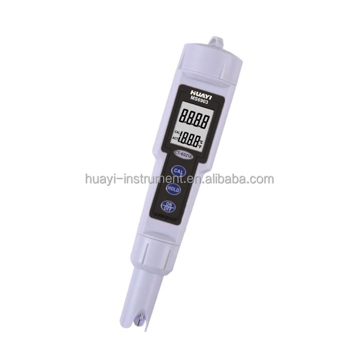Pocket digital ph meter, pen type MS6903 saltwater ph tester pool tester