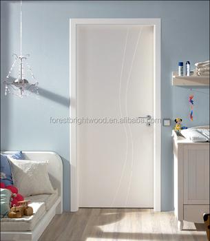 Hot Sale White Wooden Flush Interior Doors