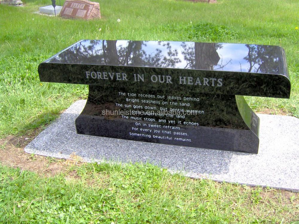 Funeral Cemetery Bench Headstones Benches Buy Granite