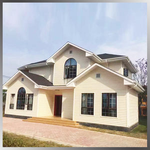 Quick Assembly Luxury big Steel Structure House, Prefabricated Villa for Sale in India