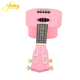 Pink Mini 4 string bass acoustic guitar