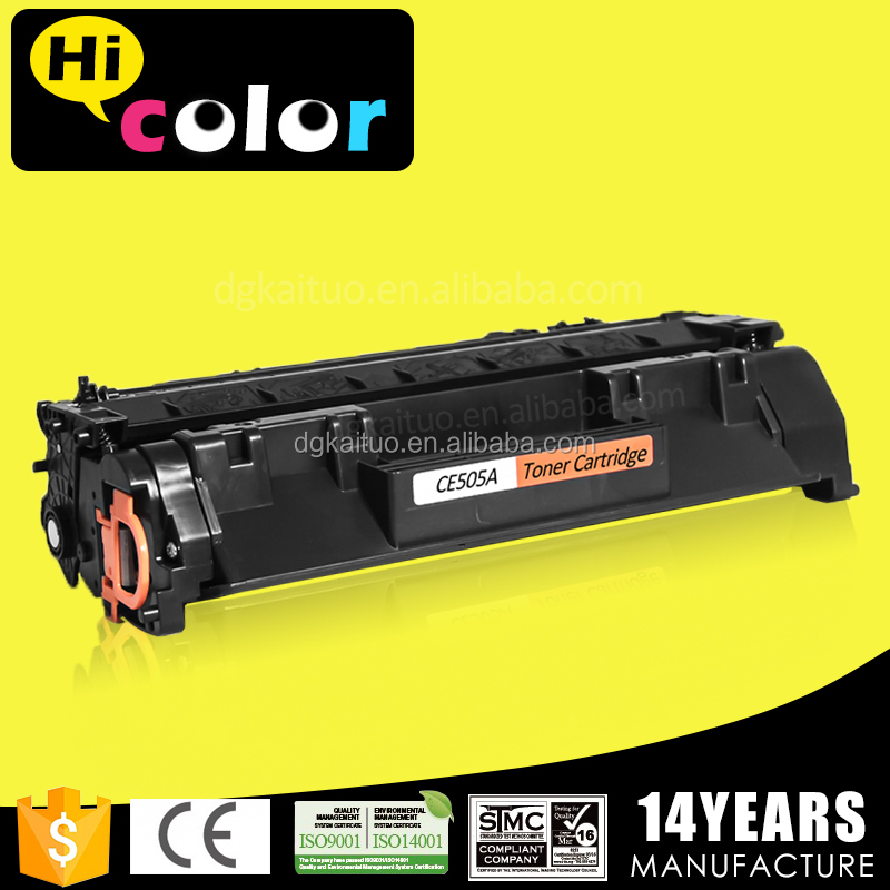 CE505A 05a compatible laserjet printer toner cartridge for HP