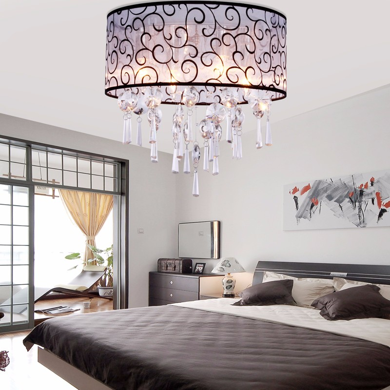 The Illuminating Elegance Of Crystal On Ceiling Is Virtually Unmatched By Any Other Material