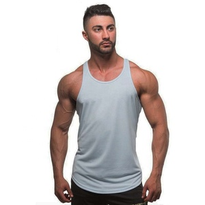High quality mens gym stringer vest