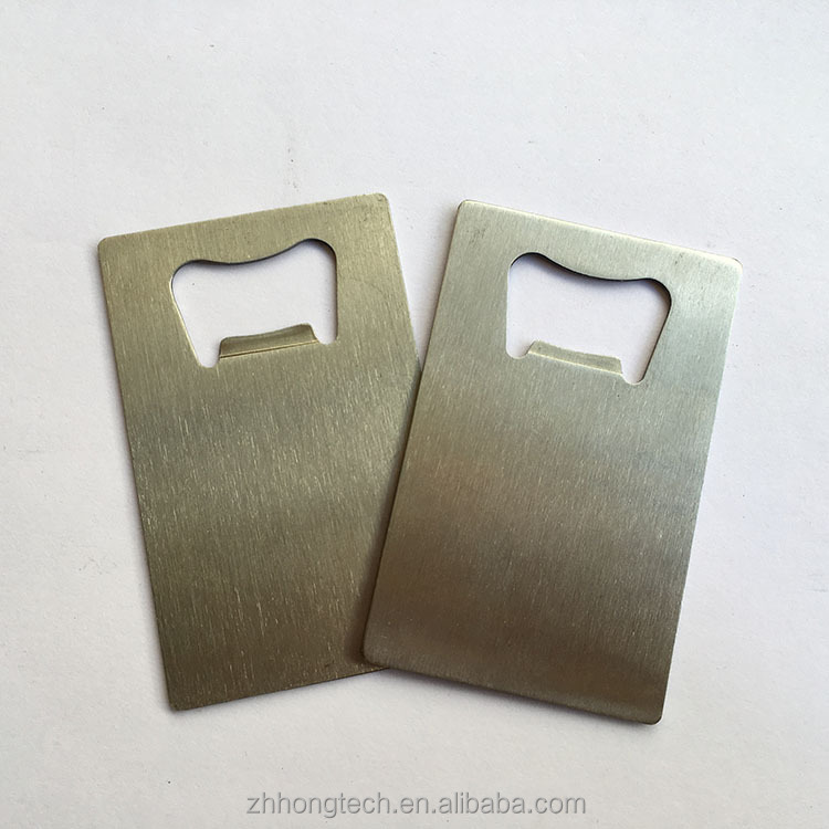 Wallet Size Stainless Steel Credit Card Bottle Opener Business Card Beer Openers