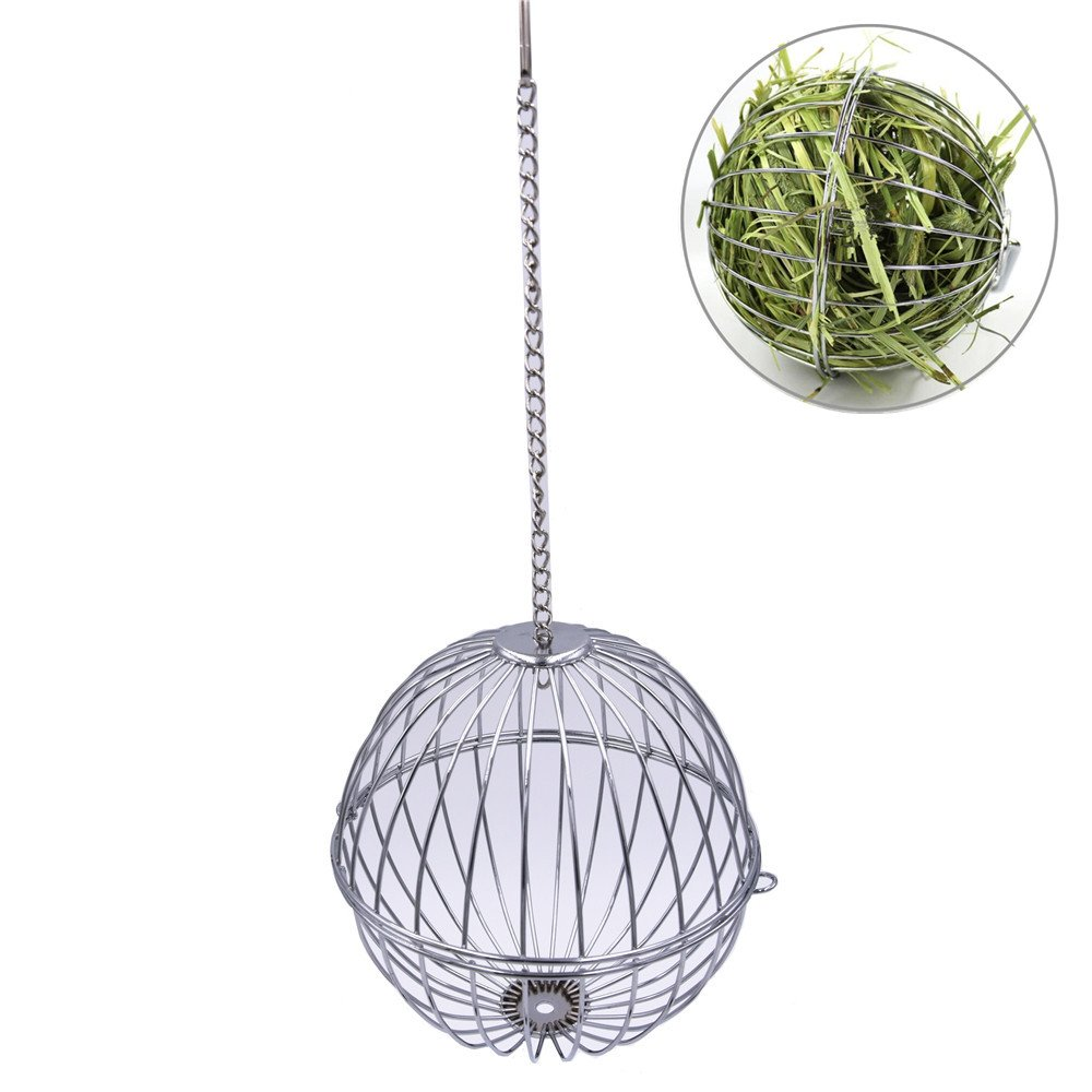 Hay Hanging Ball Bunny Toy for Pet Guinea Pig Hamster Chinchillas Rabbit Small Animals