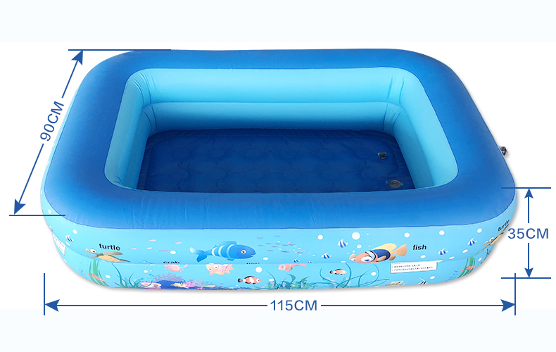 LC  Inflatable Children Baby Piscina Portable Outdoor Children Swimming Bathing Pool