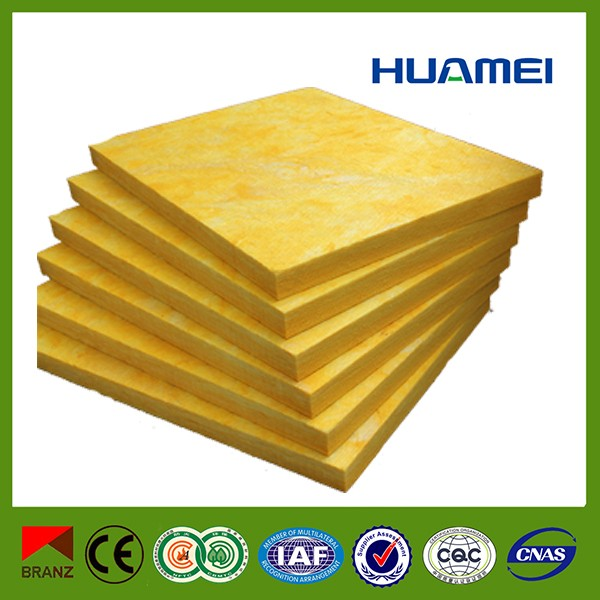 Glass fiber heat resistant insulation board insulated roof for Glass fiber board insulation