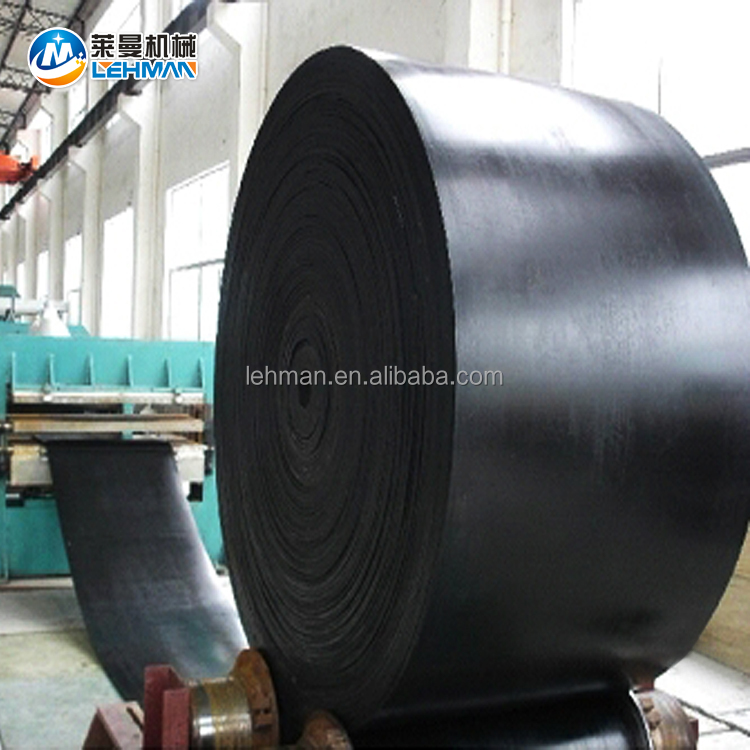 EP250 EP400/2 630/3 800/4 ISO9001 mining rubber EP conveyor belt