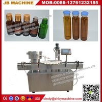 Pneumatic vacuum auto pet bottle syrup filling equipment with one year warranty