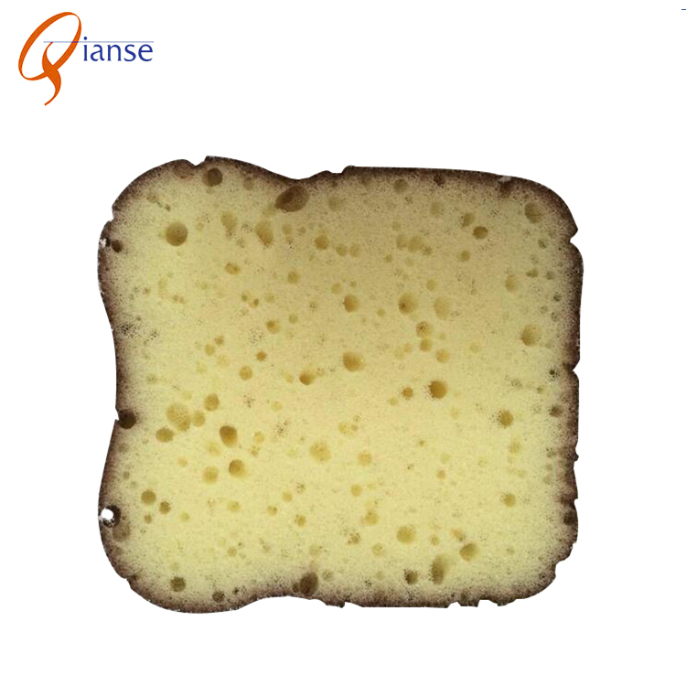 wholesale bread shape kitchen cleaning sponge , sponge scourer with Abrasive Scouring Pad