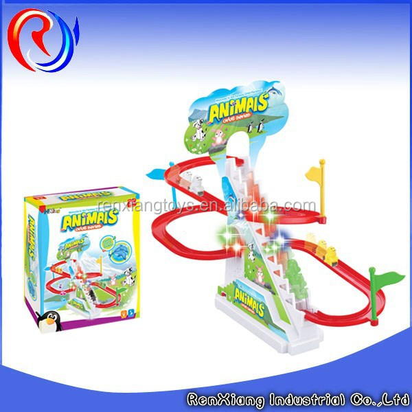 2015 new toy dolphins electric ladder track